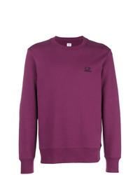 lila Sweatshirt von CP Company