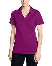 lila T-shirt von Trigema