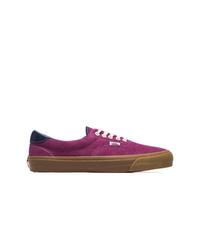 lila Wildleder niedrige Sneakers von Vans