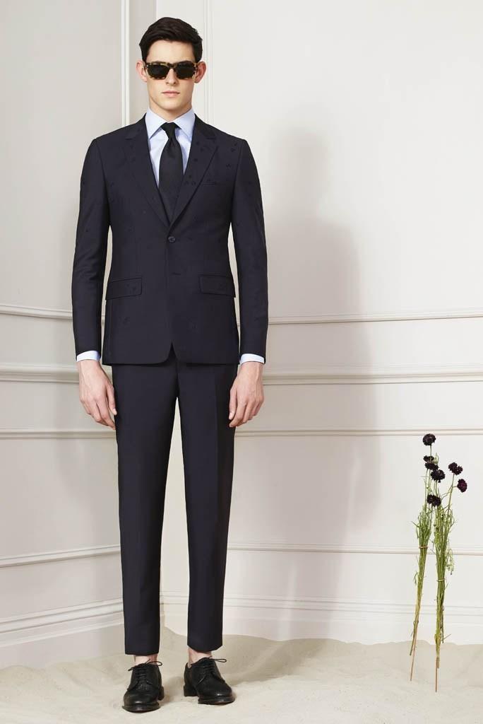 Schwarzer anzug braune schuhe