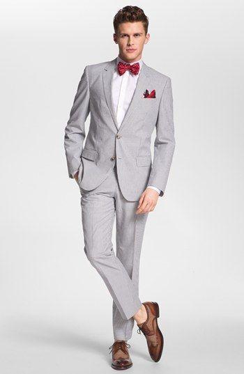 schuhe zu grauem anzug