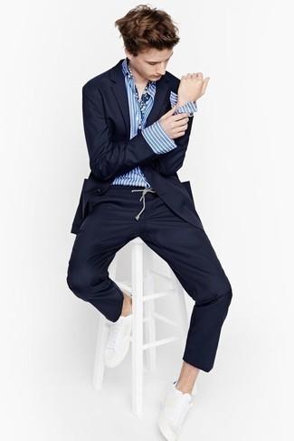 schwarzer anzug blaues hemd welche krawatte