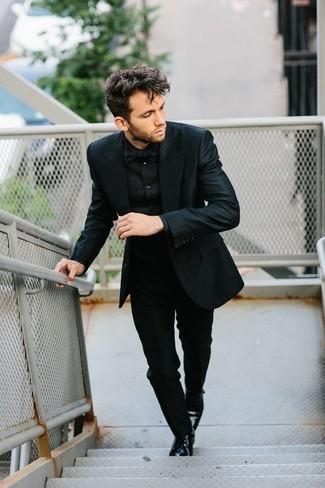 new product 27390 aa325 schwarze Leder Derby Schuhe von Lloyd, €149 | OTTO | Lookastic