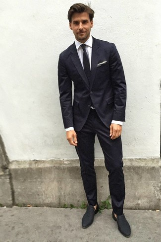schwarzer Anzug von Asos