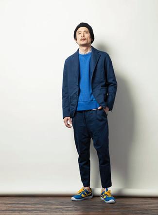 blauer Pullover von Napapijri