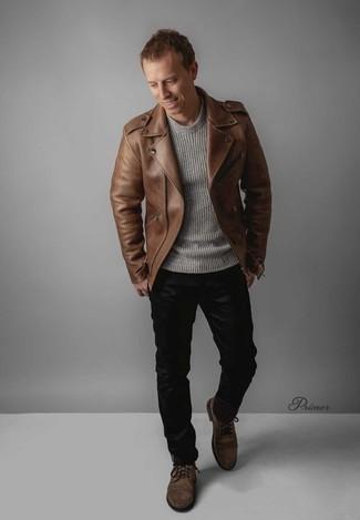 braune Jacke von G-Star RAW