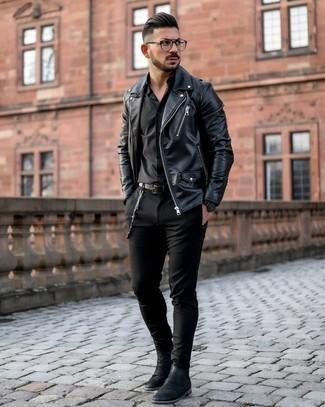 schwarze Jacke von Dockers
