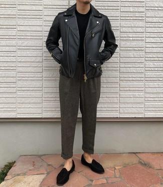 schwarze Jacke von G-Star RAW