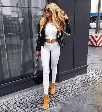 Weiße Hose kombinieren (1000 Outfits für Damen) | Damenmode
