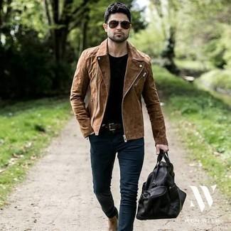 schwarze Jacke von Pepe Jeans