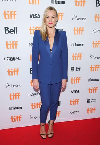 3579c9936f0d Blauen Anzug für Damen kombinieren (6 Kombinationen) | Damenmode ...