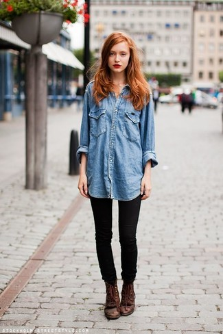 blaues Jeanshemd von Levi's