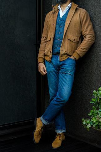dunkelblaue Jacke von Dickies