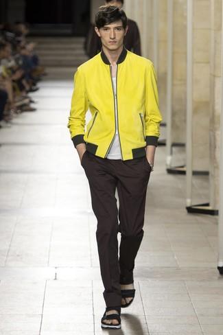 gelbe Bomberjacke von Ben Sherman