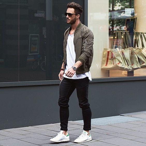 Khaki jacke kombinieren herren