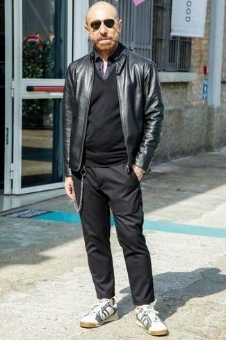 schwarzer Pullunder von Gant