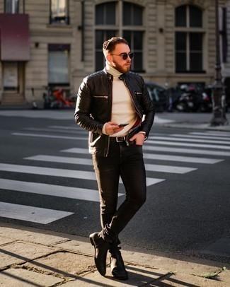 schwarze Jacke von Boss Orange