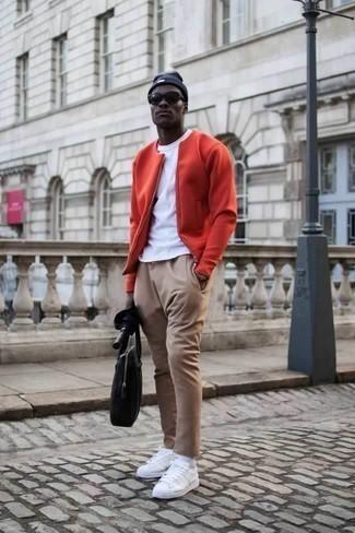 Rote Bomberjacke kombinieren – 85 Herren Outfits 2020