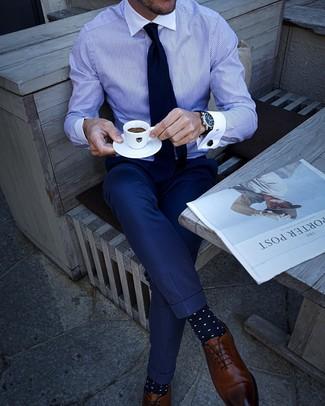 30 Jährige: Welche Hosen mit brauner Schuhe zu tragen – 1000
