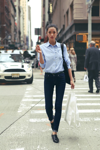 Dunkle jeans kombinieren damen