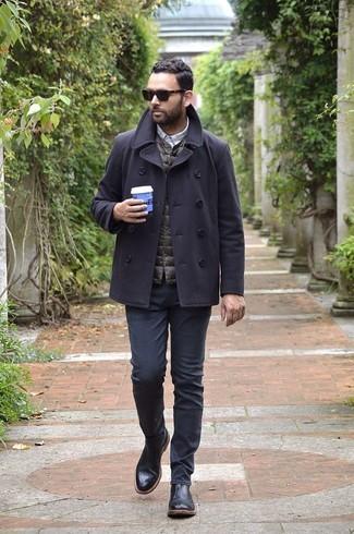 schwarze Jeans von Calvin Klein