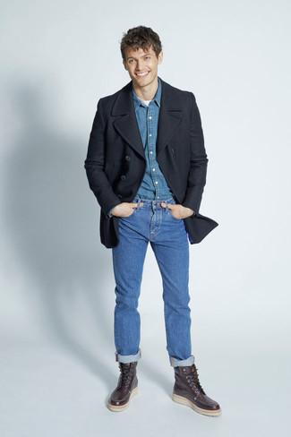 Blaue hose t shirt