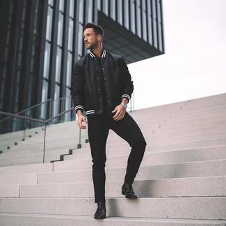 Schwarze Hose für Herren kombinieren (420 Kombinationen