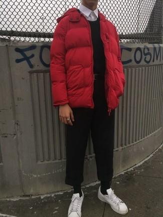 rote Jacke von SPRINGFIELD