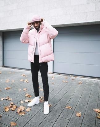 rosa Jacke von Tommy Hilfiger