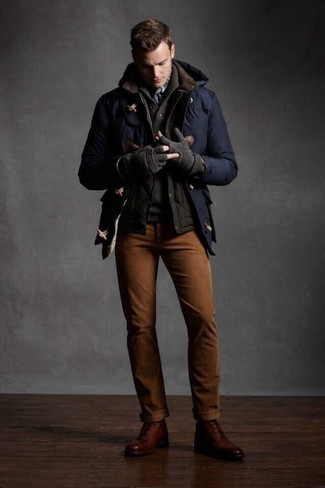 dunkelbraune gesteppte ärmellose Jacke von Asos