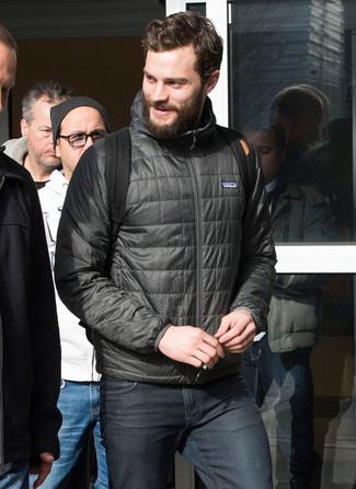 schwarzer Segeltuch Rucksack von Calvin Klein Jeans