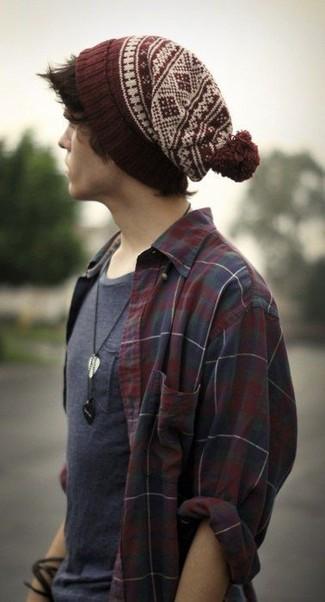Mütze mit Fair Isle-Muster für Herren kombinieren: Modetrends und ...
