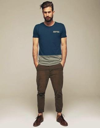 Braune hose t shirt