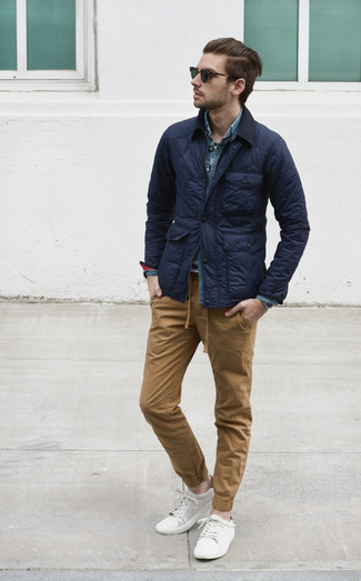 blaues Jeanshemd von Jacob Cohen