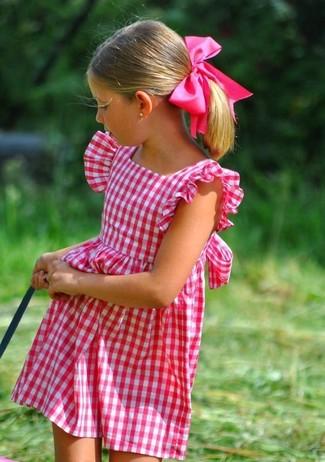 Wie kombinieren: fuchsia Kleid