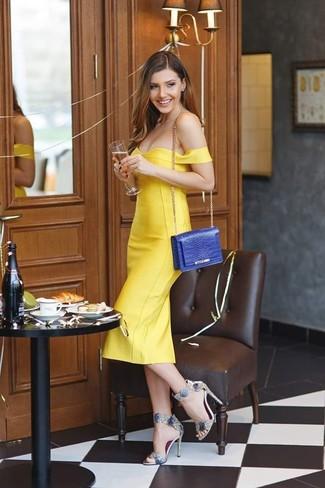 Gelbes kleid passende schuhe