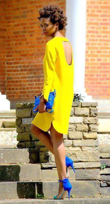 Welche schuhe passen zum gelben kleid