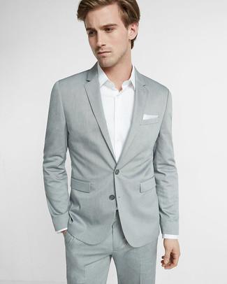 Grauer Anzug Von Strellson Premium 349 Amazonde Lookastic