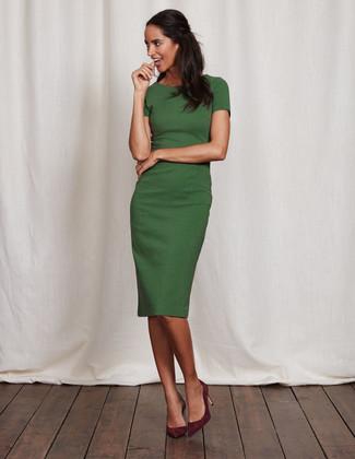 Kleid Grünes Grünes Kombinieren79 Kleid KombinationenDamenmode Lookastic eCBdoQrxWE
