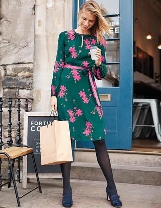 3b39bcadc45f9a Grünes Kleid mit Blumenmuster kombinieren (8 Kombinationen ...