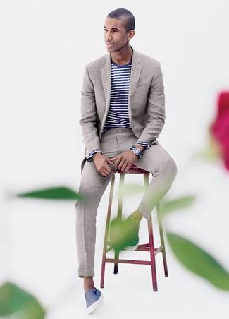 Berühmt Leinen Anzug für Herren kombinieren (4 Kombinationen) | Herrenmode @WY_44