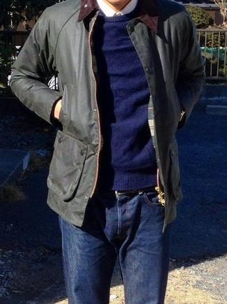 dunkelblauer Pullover von Napapijri