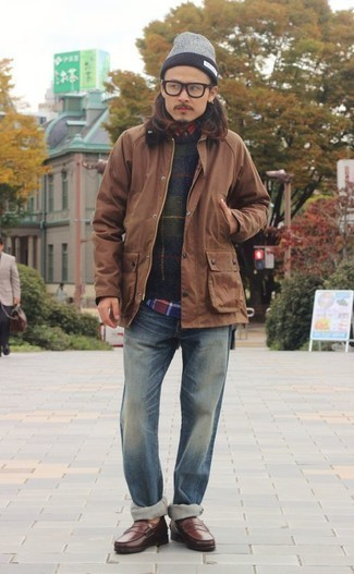 braune Jacke von Urban Classics