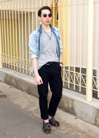 blaues Jeanshemd von CK Jeans