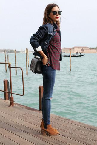 Chelsea Blaue Kombinieren Kombinieren Blaue Boots