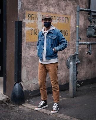 blaue Jacke von New Look