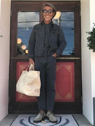 dunkelgrauer Pullover von Tommy Hilfiger