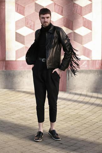 schwarzer Rollkragenpullover von Lost & Found Ria Dunn