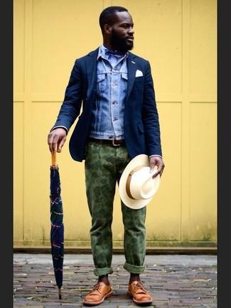 blaue Jeansjacke von Hilfiger Denim