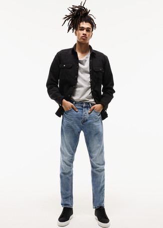 blaue Jeans von R-NEAL